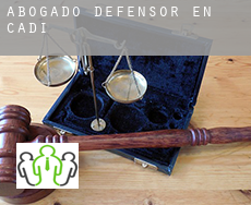 Abogado defensor en  Cadiz